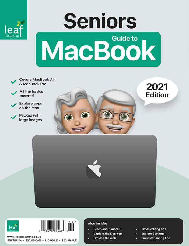 Seniors Guide to MacBook Cover