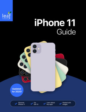 iPhone 11 Guide Book Cover
